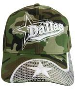Dallas Men's Swirl Netting Curved Brim Adjustable Baseball Cap Hat CAMOU... - $9.95