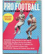 1971 Pro Football Illustrated Joe Namath Cover Steelers Cowboys Dolphins  - $17.63