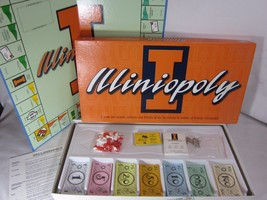 Illiniopoly Board Game University of Illinois by Late For The Sky - $24.74
