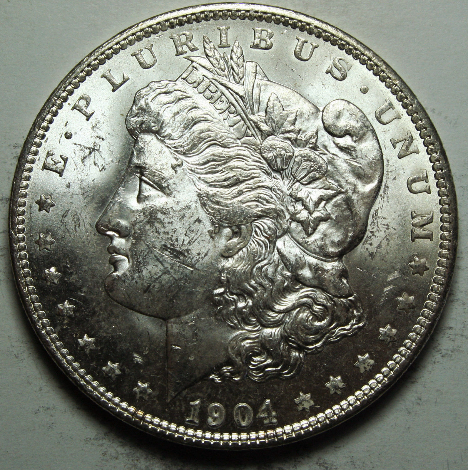 1904O MORGAN SILVER DOLLAR COIN Lot# D 78
