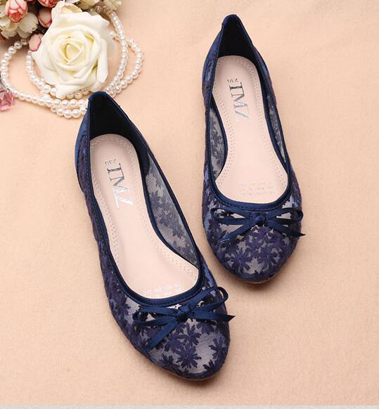 189ca809be141 Royal Blue See Through Bridal Ballet Flats and 31 similar items. E