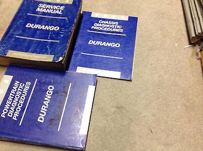 2002 DODGE DURANGO Service Repair Shop Workshop Manual Set W Diagnostics OEM image 3