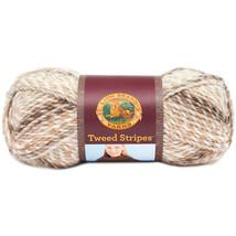 Tweed Stripes Yarn-Caramel - $14.76 CAD