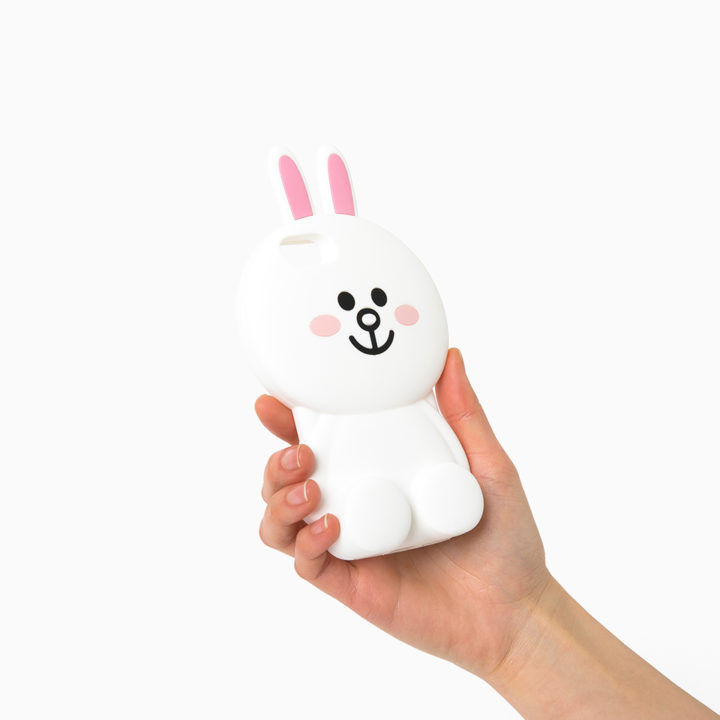 LINE Friends Mega CONY Silicone Case 7/7 Plus iPhone Cover Mobile Skin Character
