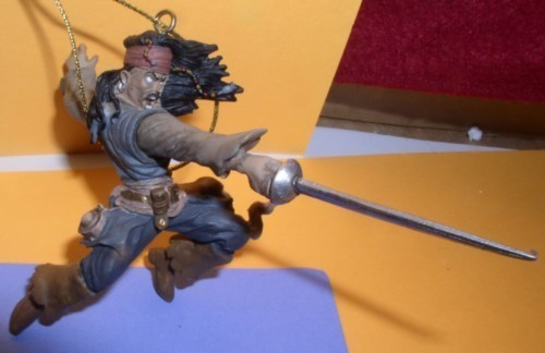 Primary image for Disney Pirates of the Caribbean Jack Sparrow  with sword ornament