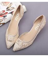 Beige See Through Bridal Heels,Ivory See Through Bridal Shoes,Low Heels ... - £39.09 GBP
