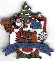 Disney Tigger & Eeyore DL Christmas 2000 pin/pins - $27.44
