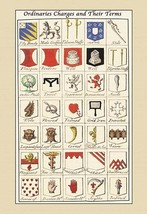 Ordinaries, Charges and their Terms by Hugh Clark - Art Print - $19.99+