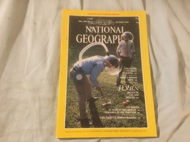 National Geographic magazine October 1984  Map Not Included - $1.00