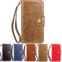 XYX Wallet Phone Case for LG K20 Plus,Retro Business PU Leather Wrist St... - $9.89