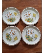 """Floral Expressions Stoneware - Summertime - 4 x Dinner Plates 10.6"""" - $39.99"""