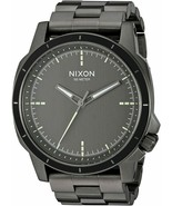 NWT Nixon A913632-00 Men's 'Ranger Ops' Gray Stainless Steel Watch - $178.15