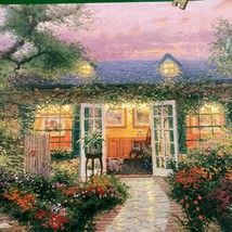Ceaco Thomas Kinkade Studio IN Die Garten 500 Stix-Shaped St.Puzzle Neu ... - $15.62