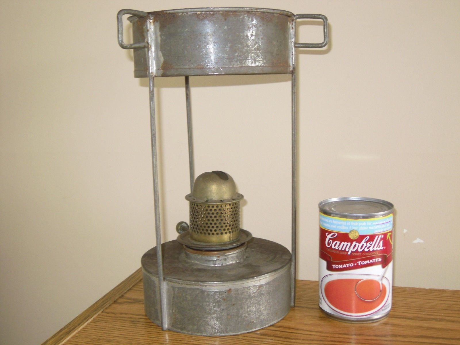 Vtg Antique Galvanize Metal Tin Oil Kerosene and 50 similar items