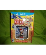 Captain Toad: Treasure Tracker + Toad AMIIBO (Nintendo Wii U, 2016)