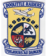 """5"""" AIR FORCE DOOLITTLE RAIDERS TOJOURS AU DANGER EMBROIDERED PATCH - $18.04"""