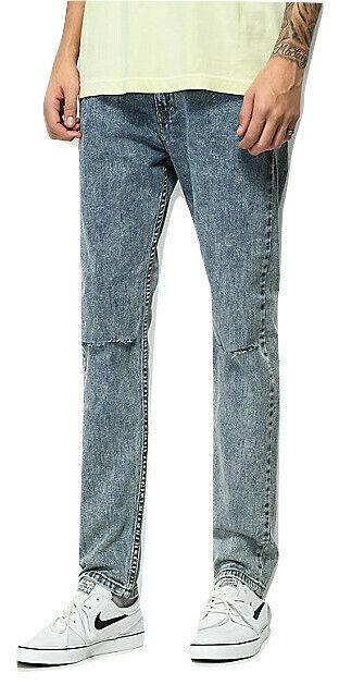 Levi Men 510 Skinny Fit Stretch Jean Size W32 x L32 Ripped Distressed RRP $69.50 image 2