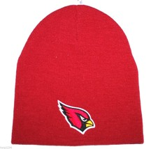 Arizona Cardinals NFL Team Apparel Cuffless Knit Winter Hat/Beanie/Toque - $16.14