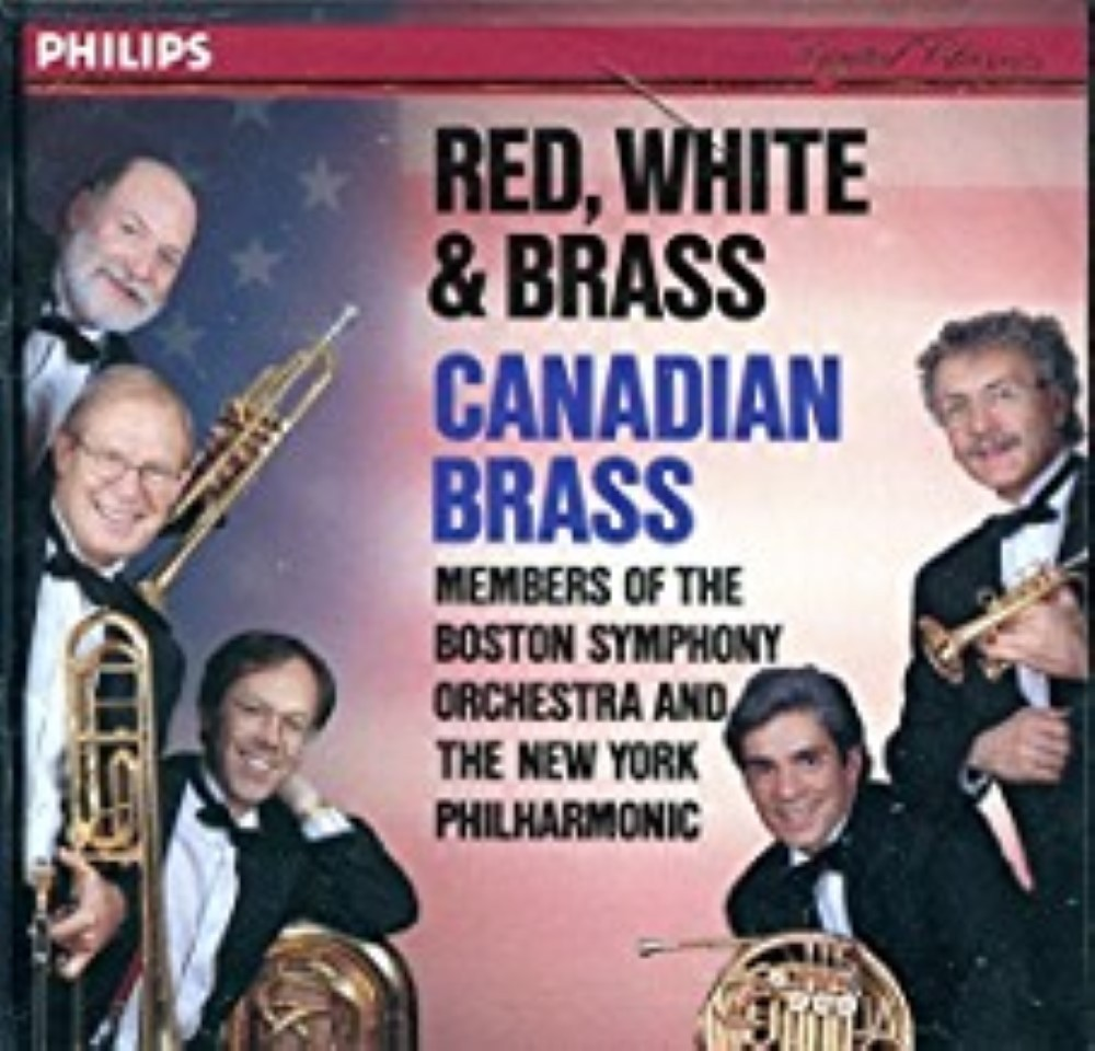 Red, White & Brass - Canadian Brass Cd