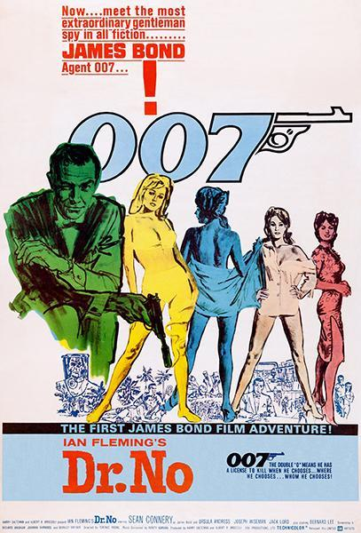 Primary image for Dr. No - James Bond - 1962 - Movie Poster