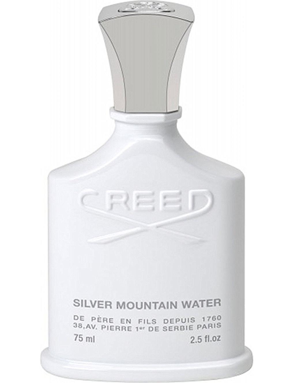 SILVER MOUNTAIN WATER by CREED 5ml Travel Spray MANDARIN GALBANUM Perfume