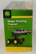 John Deere TBE45368 Mega Hauling Playset Pickup Trailer Skid Steer Tractor Cart image 4
