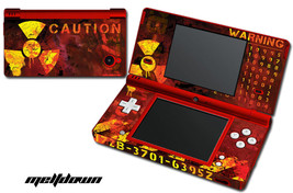 Skin Decal Wrap for Nintendo DSI Gaming Handheld Sticker MELTDOWN - $13.81