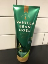 Bath & Body Works Vanilla Bean Noel Ultra Shea Body Cream 8 oz - $11.50