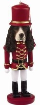 SPRINGER  DOG CHRISTMAS ORNAMENT NUTCRACKER SOLDIER HOLIDAY XMAS 5 inch - $12.98