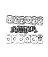 Corvette 1956-1962 Screw And Nut Set Soft Top Weatherstrip/Front T Nuts - $22.72