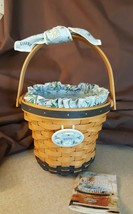 Longaberger 1999 May Series DAISY Basket Fabric Liner & Plastic Protector - $29.95