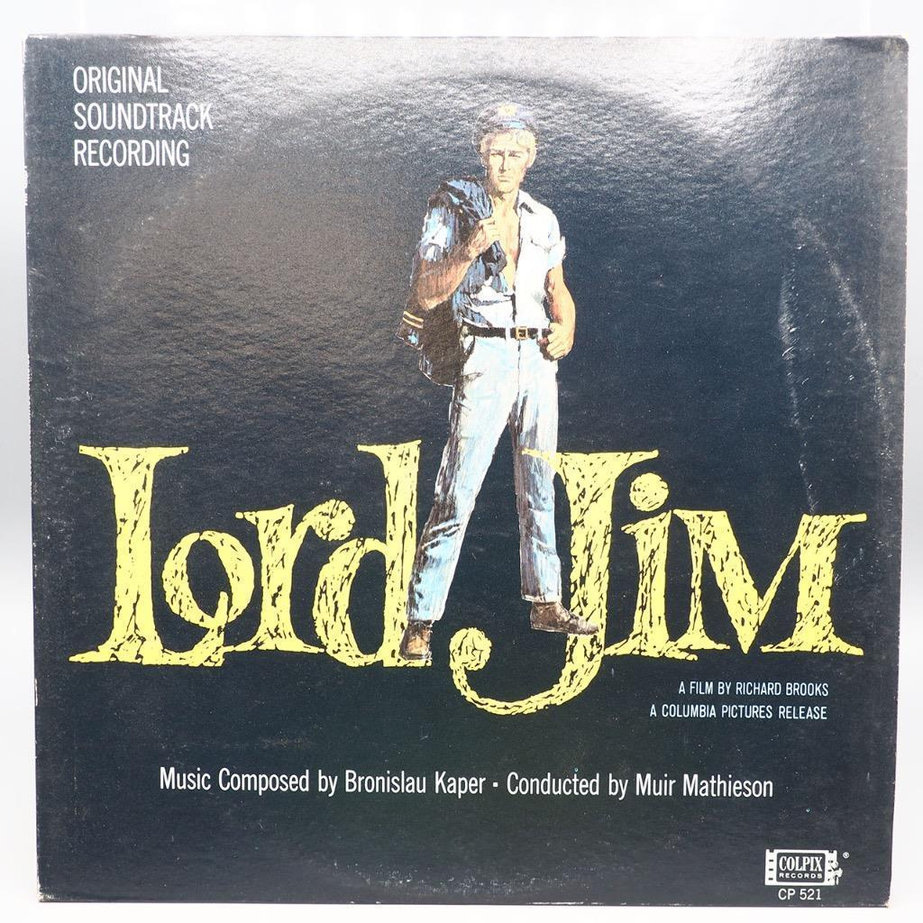 Vintage Lord Jim Original Soundtrack Recording Record Album Vinyl LP