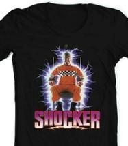 Shocker T Shirt 1980s Wes Craven slasher movie retro 80s horror film graphic tee image 2