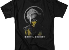 Mortal Combat X Retro 90's Fantasy fighting video game graphic t-shirt WBM423 image 2
