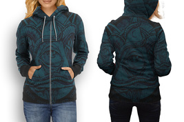hoodie women zipper Illuminati New Free Mason - $48.55+