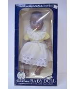 1979 ATLANTA NOVELTY 17 INCH GERBER BLACK / AFRICAN AMERICAN BABY - $44.99