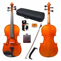 Paititi 4/4 Full Size Intermediate Level Plus Violin with Case, Bow and ... - $169.99