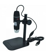 S02 1X-500X 2MP USB Digital Microscope 8LED Electron Endoscope Magnifier - $69.29