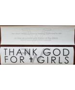 "Weezer - Thank God For Girls 2016 11-1/2"" x 3""Promo Sticker, New - $9.95"