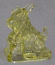 J B Scottie Dog Lime Twist Glass Scottish Terrier Scotty Dog by Boyd Cobalt - $18.69