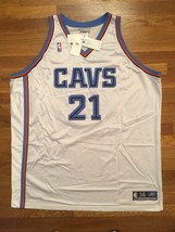 BNWT Authentic Reebok 2002 Cleveland Cavaliers Darius Miles Home Jersey ... - $499.99