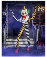 Halloween prop decor Decorations 6.2 Ft Cuddles the Clown Animatronic (s... - $841.50