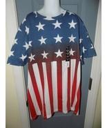 Urban Pipeline American Flag Short Sleeve Crew T-Shirt Size XL Boy's NEW - $22.00