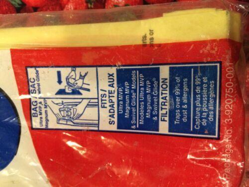 NEW OLD STOCK PACK OF 3 DIRT DEVIL VACUUM CLEANER BAGS TYPE U MICRO FRESH image 4