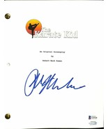 Ralph Macchio Signed The Karate Kid Script BAS - $277.19