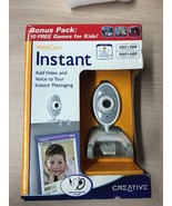 Creative PC Instant Messaging Picture & Video WebCam 73VF004000026 AC2 - $4.96