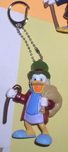 Disney Uncle Scrooge Ebenezer Scrooge Mc Duck with money sack Figurine k... - $36.59