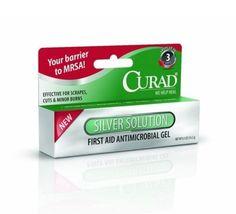 Curad Silver Solution Antimicrobial Gel 0.50 oz  - $7.00