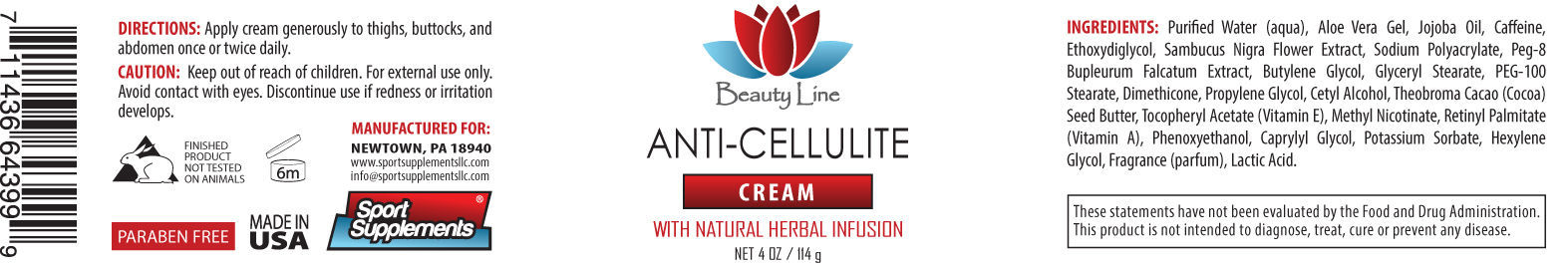 Phenoxyethanol - Anti Cellulite Cream 4oz - Heals cracked Heels 1C