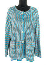 Exclusively Misook Large Women's Jacket Multico... - $125.00